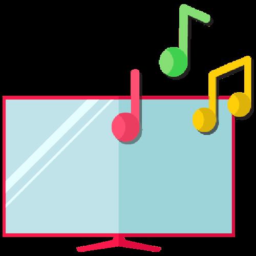 Smart Media Audio Icon